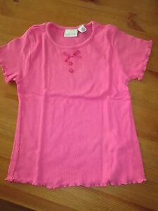 Tee-shirt-Uni-Rose-MC-T4ans-marque-Kiabi-NEUF