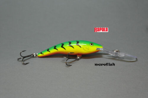 BLT Rapala Wobbler Deep Tail Dancer TDD07 7cm Bleeding Tiger