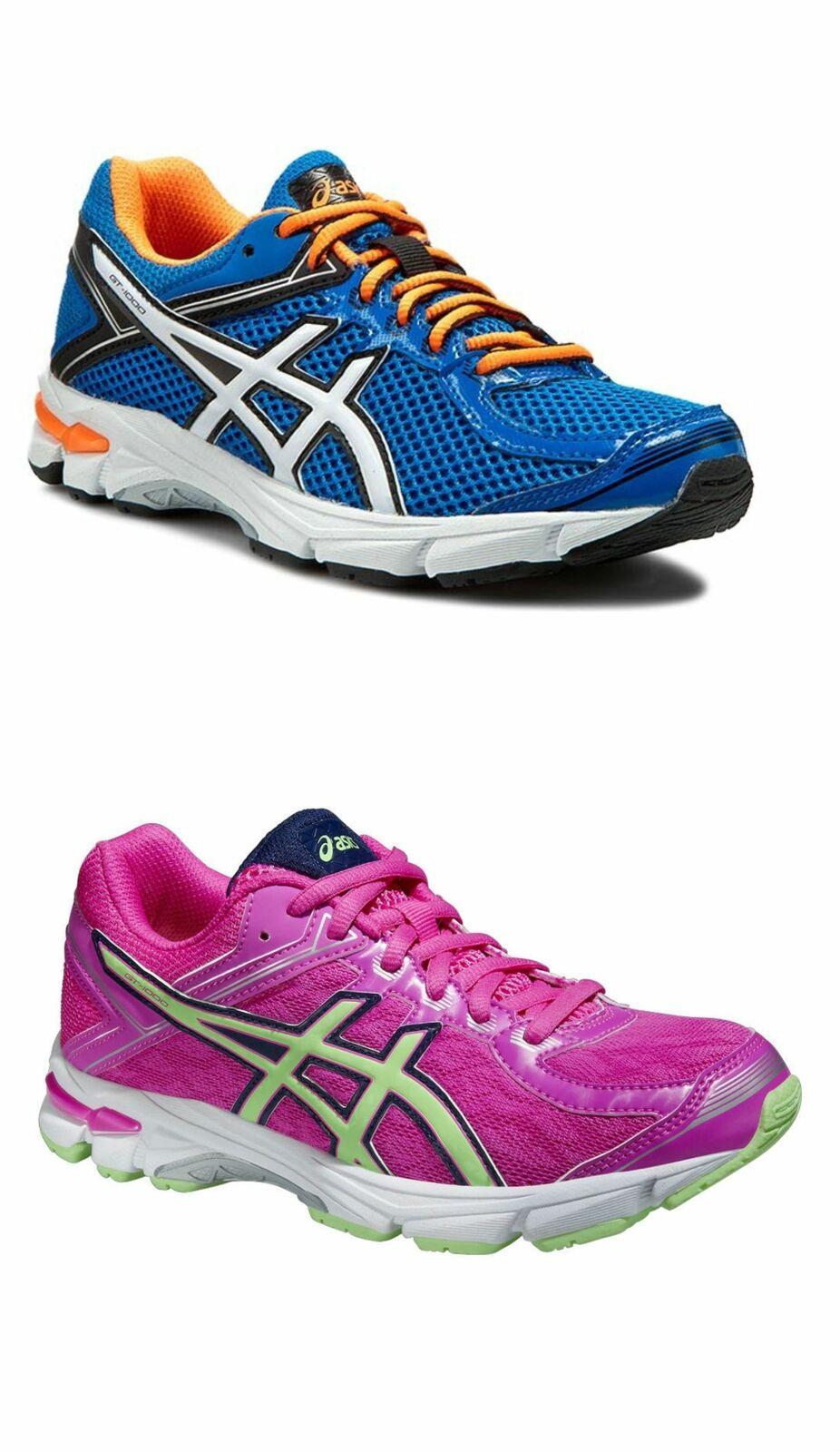 2b9a7d62fb8 Asics GT 1000 Gel Junior Boys Girls Trainers shoes Kids Running ...