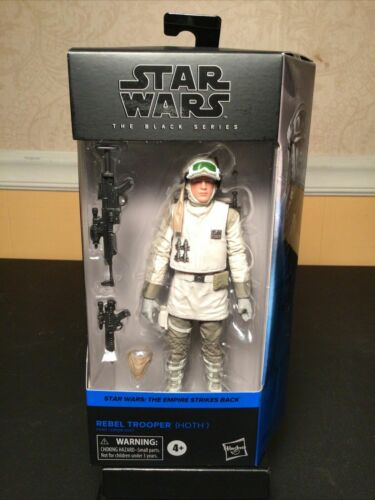"""Star Wars Rebel Hoth Soldier Black Series 6/"""" Action Figure New In Hand RARE"""