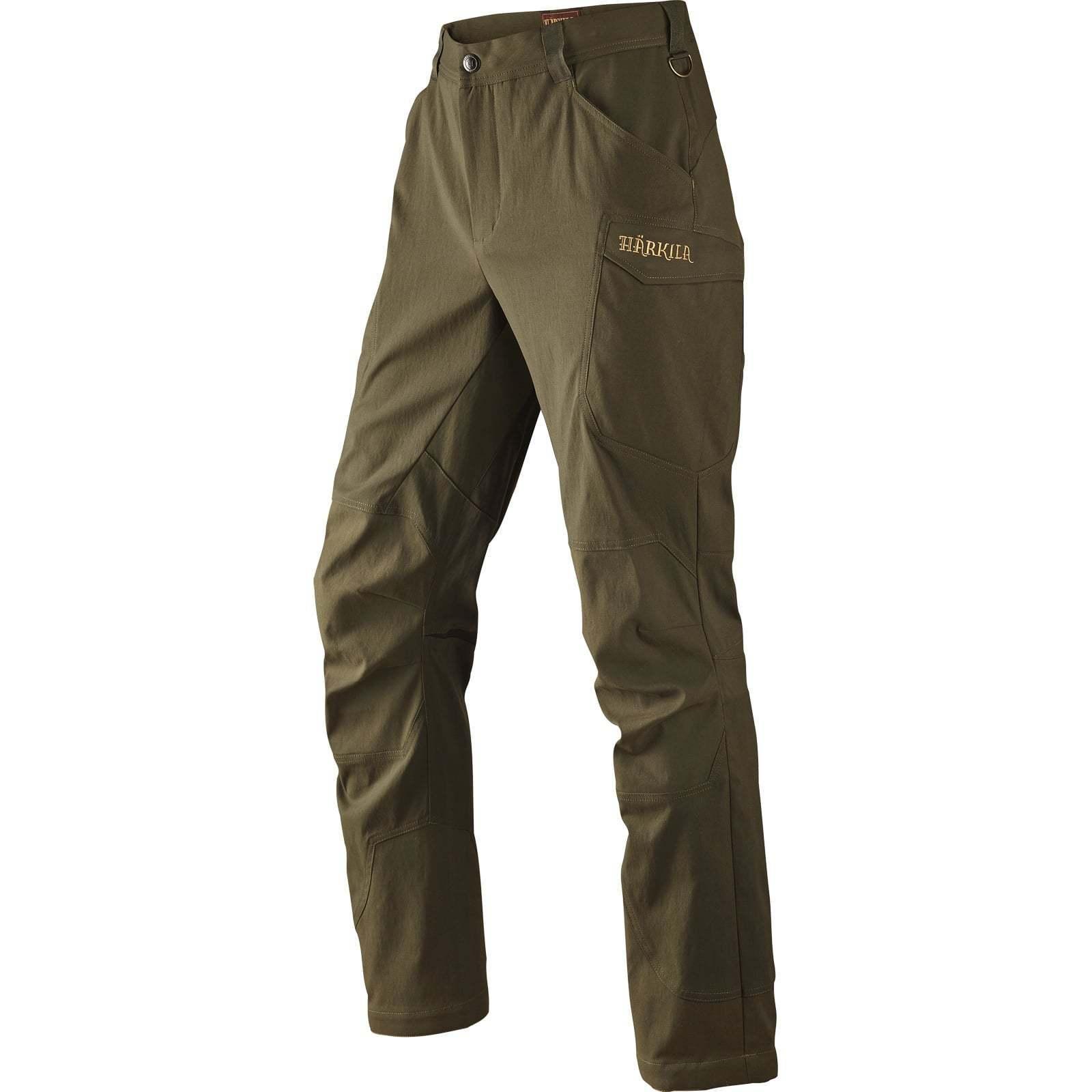 Pantalones Harkila Ingels-verde de sauce-rojoucido de  a