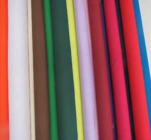 Premium-Cotton-Fabric-Sheeting-240-cms-WIDE-WIDTH-Plain-Solid-Colours-Bed-Lining