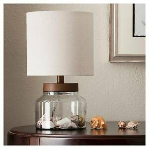Fillable Glass Table Lamp Base Home & Garden > Lamps, Lighting & Ceiling Fans > Lamps