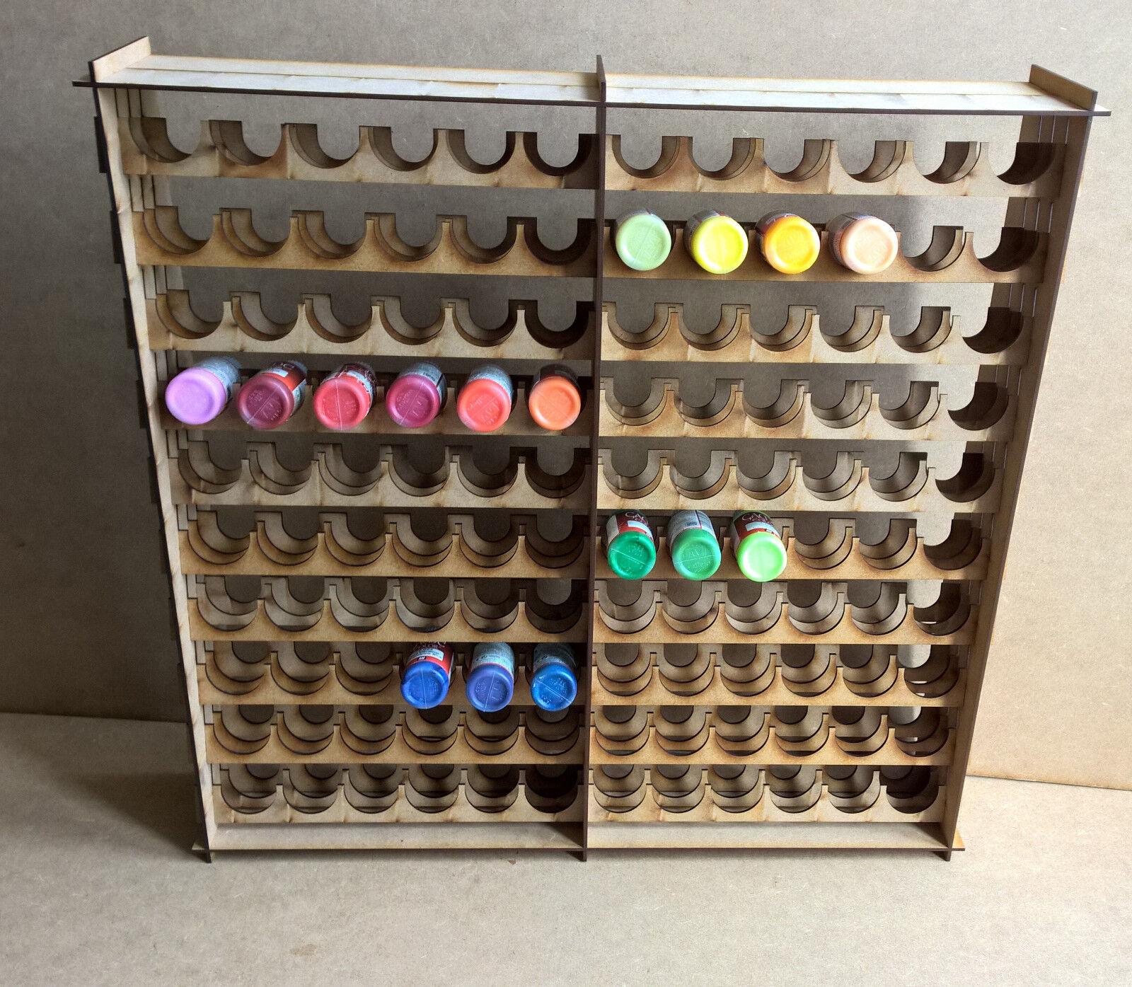 solo para ti Soporte de pintura Botellero Para 240 botellas de almacenamiento Warpaint Warpaint Warpaint Vallejo Warhammer 40k Escenografia  salida