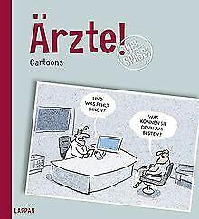 Arzte-Cartoons-von-Diverse-Buch-Zustand-gut