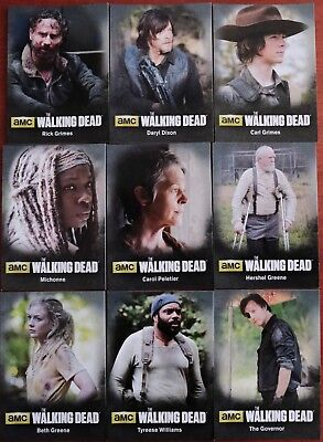Walking Dead Season 4 Part 1 Bios Chase Card C01 Rick Grimes