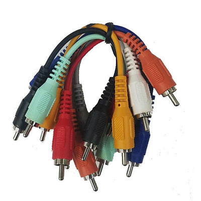 Cable Up Cu Pc115 0 5 Rca Male To Rca Male Patch Bay