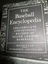 "Vintage 1969 1st Edition THE BASEBALL ENCYCLOPEDIA 9.5X7"" Hardcover 2337pgs 318A"