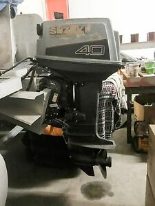Details about Suzuki DT 40 04003 Outboard Engine Motor Made in Japan