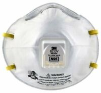 3M 8210V N95 Particulate Respirator- 10 masks/box