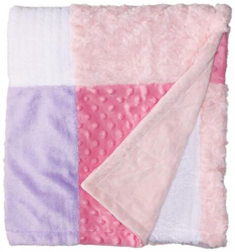 "Baby Blanket Girl Pink Nursery Crib Travel Gift 30x40/"" Newborn Infant Gift New"