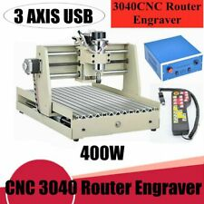 Usb 3axis Cnc 3040 Router Engraver Engraving 400w Wood Milling Machine Remote