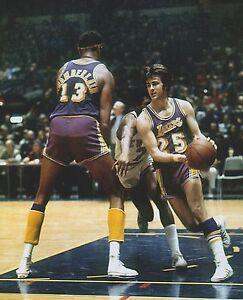 Wilt Chamberlain Gail Goodrich Lakers 1972 Nba Finals Ny Knicks 8 X 10 Photo 1 Ebay