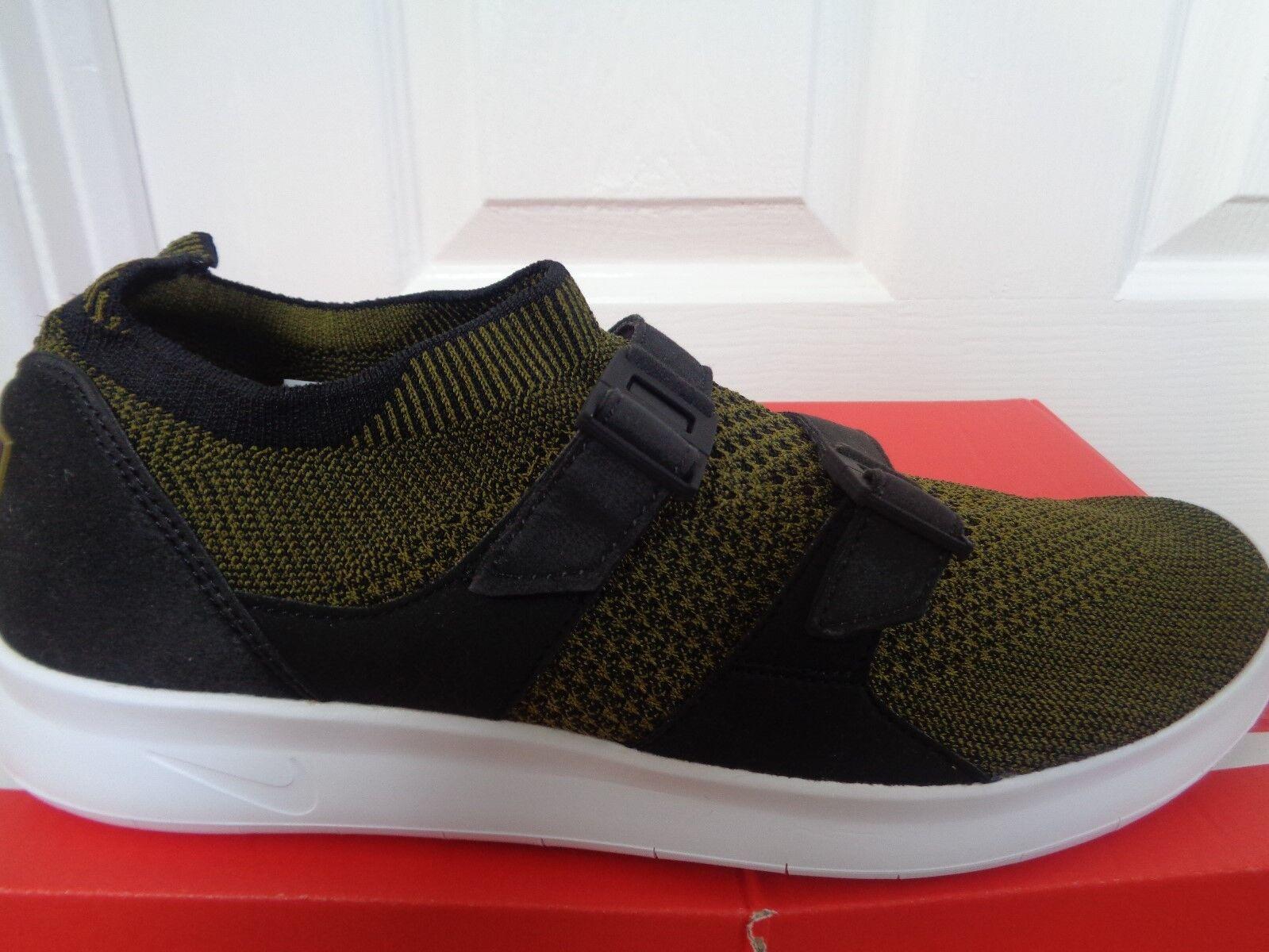 Nike Air Sockracer Flyknit mens trainers 898022 002 eu 42 us 8.5 NEW+BOX