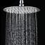Square-Round-Stainless-Steel-Rain-Shower-Head-Rainfall-Bathroom-Top-Sprayer-UK thumbnail 10