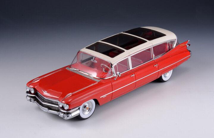 Cadillac Broadmoor Skyview  rojo 1959 (GLM Models 1 43   43101701)