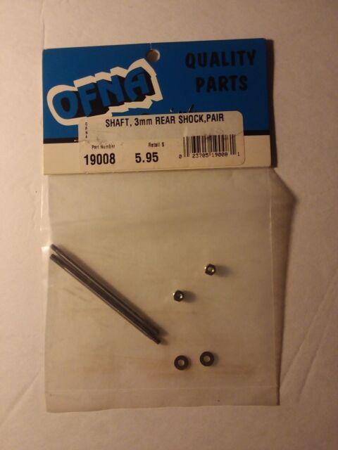 OFNA - 3mm Shaft -(Rear Shock/Pair) - #19008
