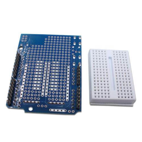 Arduino Uno Prototype Expansion Shield Module Breadboard ProtoShield USA 5PCS