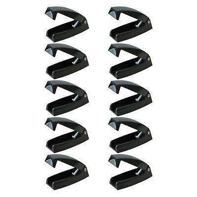 5 Brand New White Baggage Door Clips for RV Camper Motorhome door holder RV013