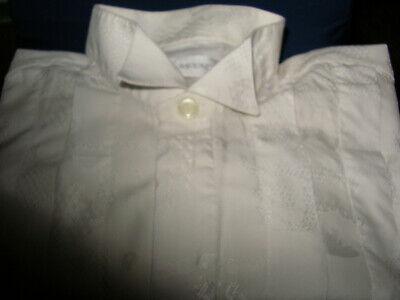 Herrenhemd Smoking Hemd Hochzeit Party Event Weiß Gr. 42 Elegant Um Sowohl Die QualitäT Der ZäHigkeit Als Auch Der HäRte Zu Haben