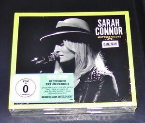 SARAH-CONNOR-LENGUA-MATERNA-LIVE-GANZ-NAH-EDICIoN-DELUXE-2-CD-DVD