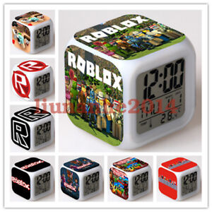 Roblox Game Night - Game Roblox Alarm Clock Color Changing Led Night Watch Student