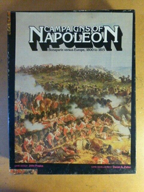 Campaigns of Napoleon (Complete & mostly Unpunched  by  West End Games