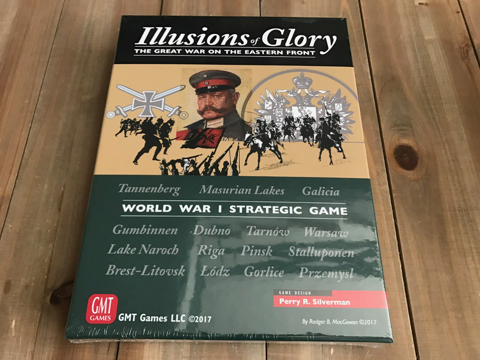 Set Wargame - Illusions Of Glory - Gmt Games - Strategic WWI