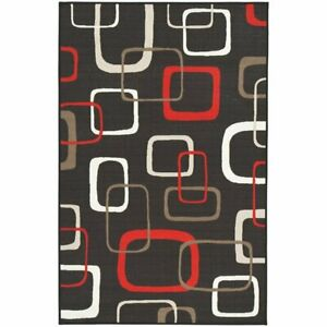 Ashley-Furniture-Johan-5-039-3-034-x-7-039-6-034-Area-Rug-in-Black-and-Red