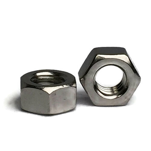 Stainless Steel Finished Hex Nut UNC 1//4-20 Qty 250