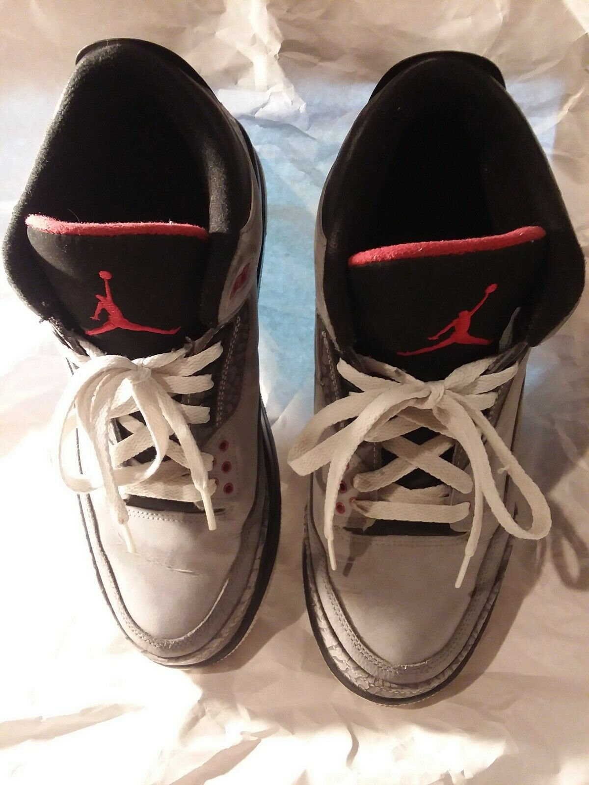 Nike Air Jordan Retro 3 Stealth ( 136064-003 ) -  Size 10.5.