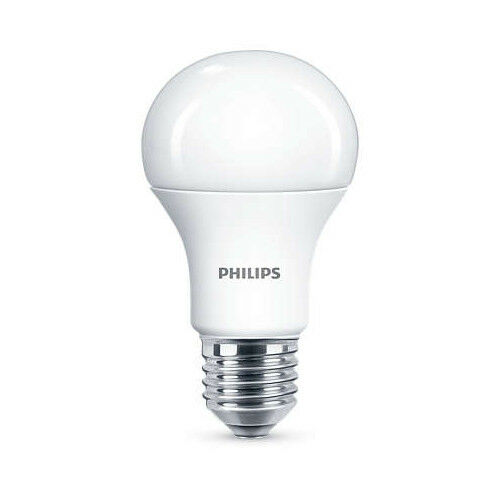 100 x Philips LED Frosted E27 Edison Screw 75w Warm Weiß Light Bulb Lamp 1055Lm