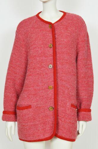 Geiger Austria Wool Jacket Blazer Thick Sweater Tr