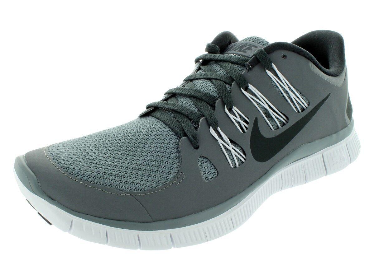 Nike libera   Uomo scarpe da corsa forte grigio antracite 579959 001 - bianco / grigio - antracite bianco