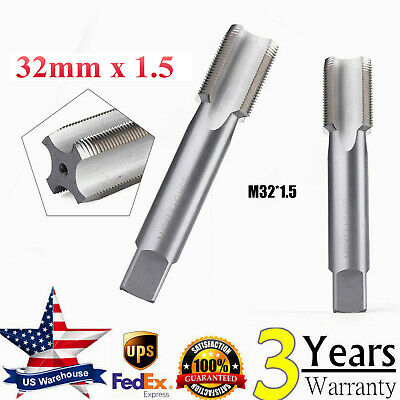 S 1pcs 33mm x 1.0 Metric HSS Right hand Thread Tap M33 x 1.0 mm High quality