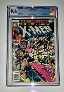 Uncanny-X-Men-110-CGC-9-6-White-Pages-Marvel-1978-Perfect-Case