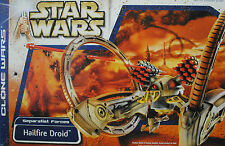 STAR WARS Hailfire Droid Separatist Forces Vehicle Tank Clone Wars Geonosis MISB