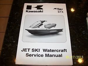 OEM FACTORY Kawasaki 2009 STX JT1500D9F Jet ski Service Shop Repair Manual