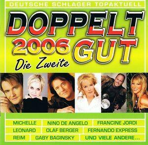 Doppelt-Gut-2006-2-CD-NEU-Michelle-Raffaele-Luisa-Freddy-Breck-INKA-Reim
