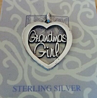 Sterling Silver 20x20mm says Precious in a Cut Out Heart Charm!