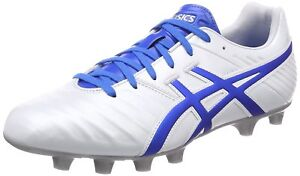 bfb1b18c015 ASICS Soccer Rugby Spike Shoes DS Light WD 3 TSI753 White Blue US9.5 ...