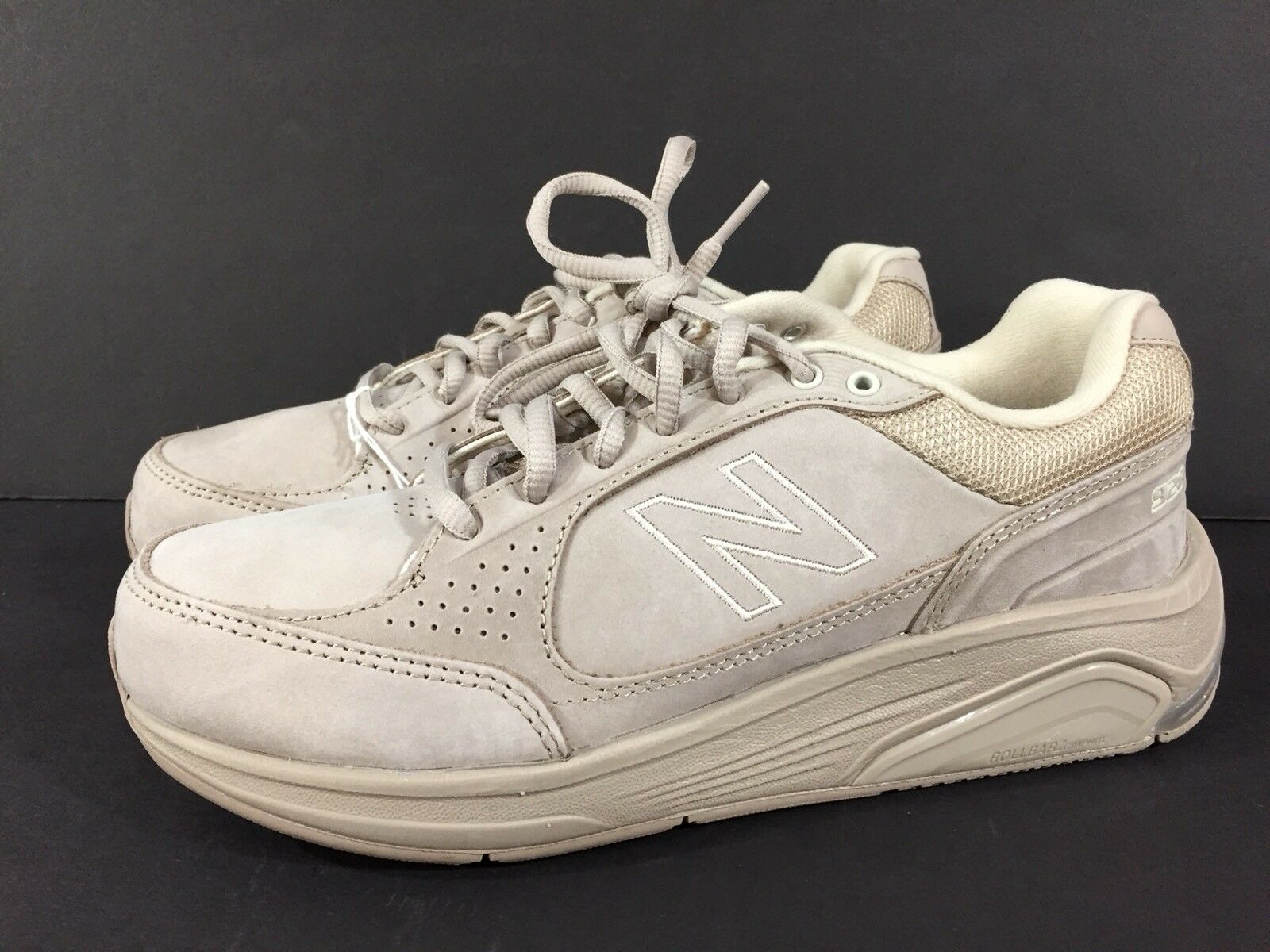Womens NEW BALANCE 928 Walking Shoes Tan Suede Leather NEW US 7 B WW928TN NEW Leather w/TAGS 4eb577