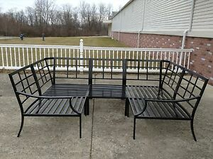 Image Is Loading Pottery Barn Riviera Outdoor Sectional Sofa Frame Bronze