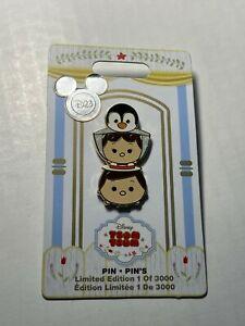 NEW 2017 D23 Expo Disney Store Mary Poppins Bert Penguin Tsum Tsum Pin LE 3000