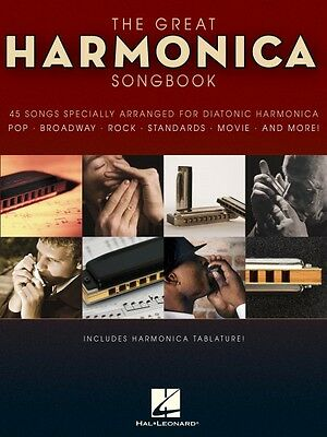 Musical Instruments & Gear The Great Harmonica Songbook 45 Songs Specially Arranged For Diatonic 000821039 Skillful Manufacture
