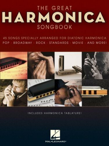 The Great Harmonica Songbook 45 Songs Specially Arranged for Diatonic  000821039