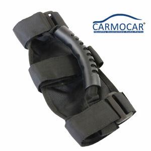 Roll-Bar-Grab-Handle-for-Jeep-Wrangler-CJ-YJ-TJ-JK-1-Pair-Handles-Black