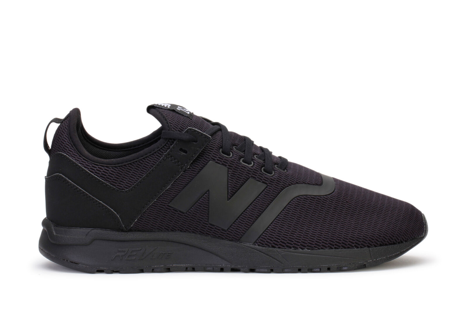 New Balance Men's Lifestyle Sneakers 247 Decon Black Black MRL247DA