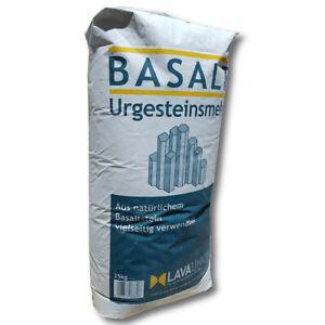 Basalte Urgesteinsmehl 25 KG Activateur de Sol Bodenhilfsstoff Jardin Beet Gazon