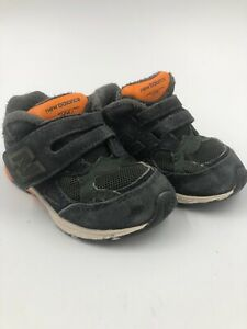 new arrival cb06e 2adfb Details about New Balance 990 Kids Toddler Baby Boys Size 6M - Blue/Orange  - Hook and loop
